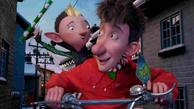 Wrap Star: Bryony the gift-wrap elf (voiced by Ashley Jensen) joins Arthur in a beat-the-clock effort to get a bike to the one girl Santa missed.