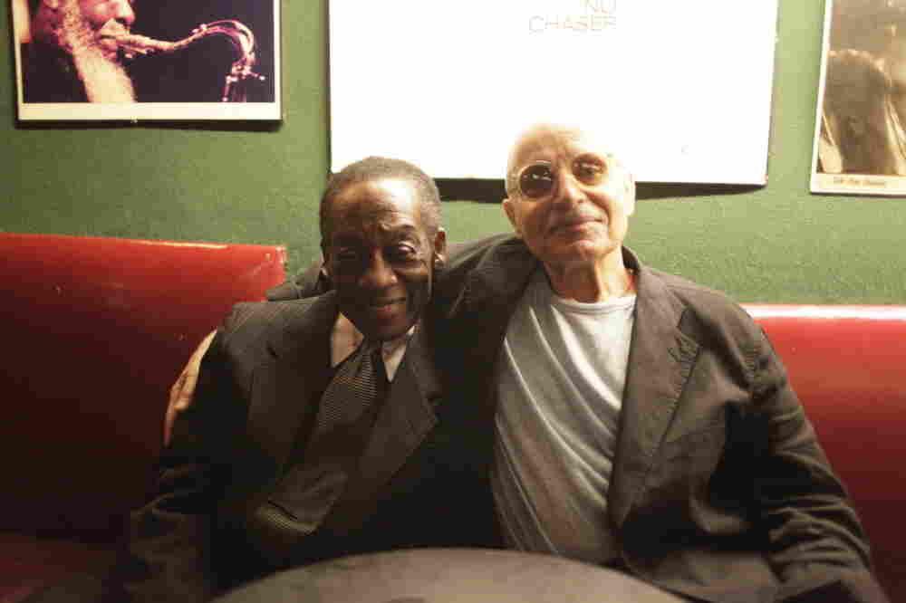 Billy Kaye and Paul Motian, at the Village Vanguard.