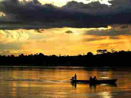 The rain forest around the Amazon River is home to some of the only surviving societies of people untouched by modern civilization.