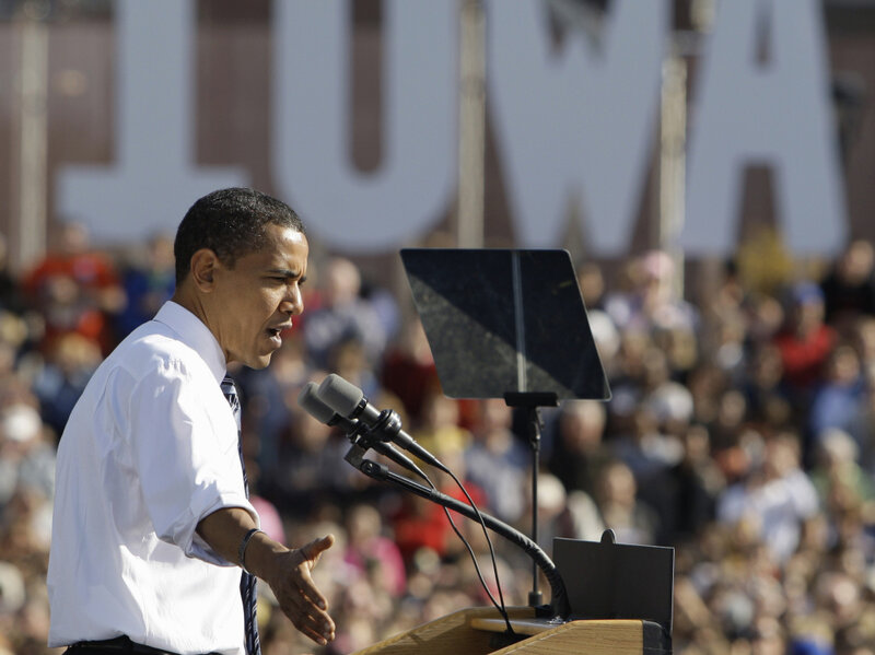 Obama Backers Hope To Rekindle Enthusiasm In Iowa : NPR