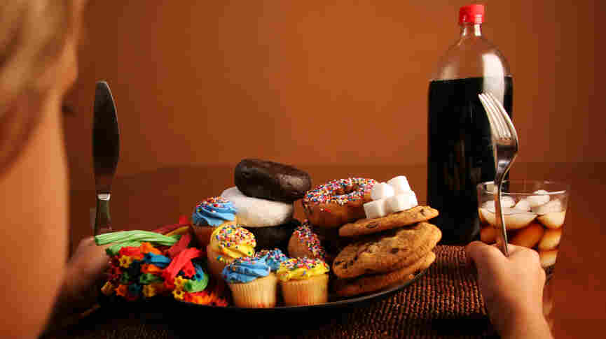 """In the Packard Pediatric Weight Control Program, kids learn that some foods, like cookies, cupcakes and soda, are """"red lights"""" and shouldn't be eaten frequently."""
