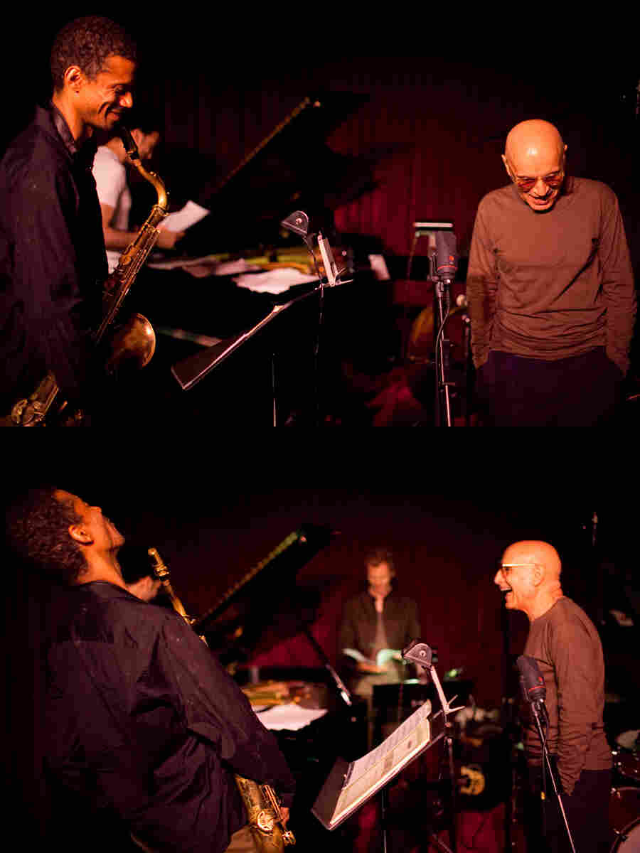 The Mark Turner quartet at the Village Vanguard, May 2011. L-R: Turner, David Virelles, Ben Street, Paul Motian.