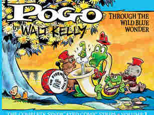 Cover of Pogo Vol. 1. Through the Wild Blue Yonder