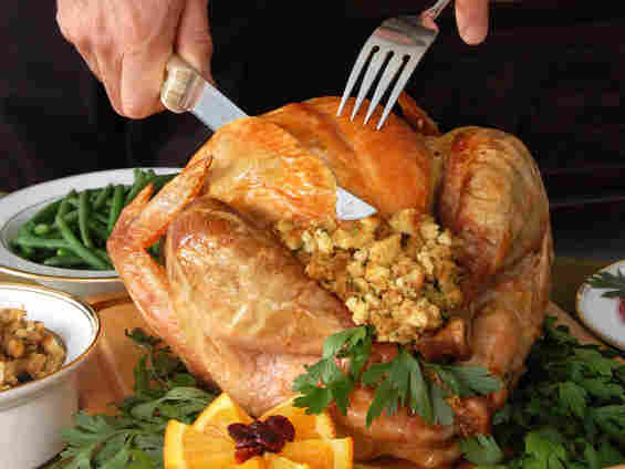 Today's Talk of the Nation focuses on Thanksgiving — who you celebrate with, who you miss, and of course, food.