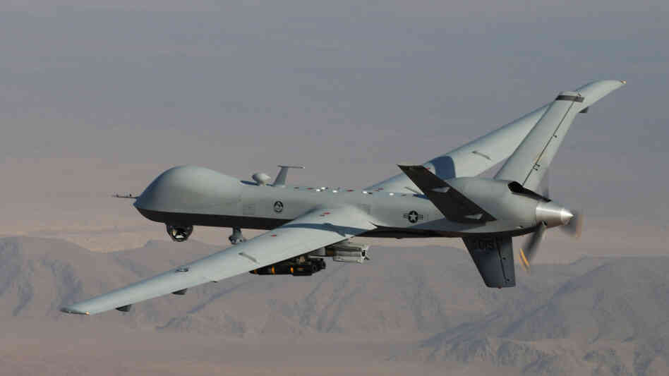 The Predator drones flying over Afghanistan and Pakistan are variants of this MQ-9 Reaper.