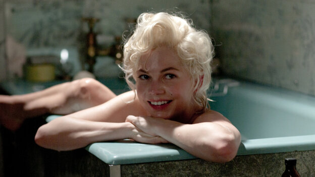 Michelle Williams stars in My Week With Marilyn.