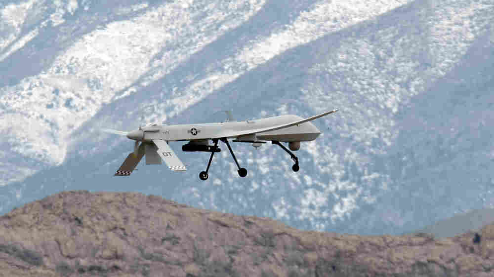 Unmanned aerial vehicles, like this Predator (shown here in 2009 during training at Creech Air Force Base in Indian Springs, Nev.), make up the fastest growing segment of the U.S. Air Force.