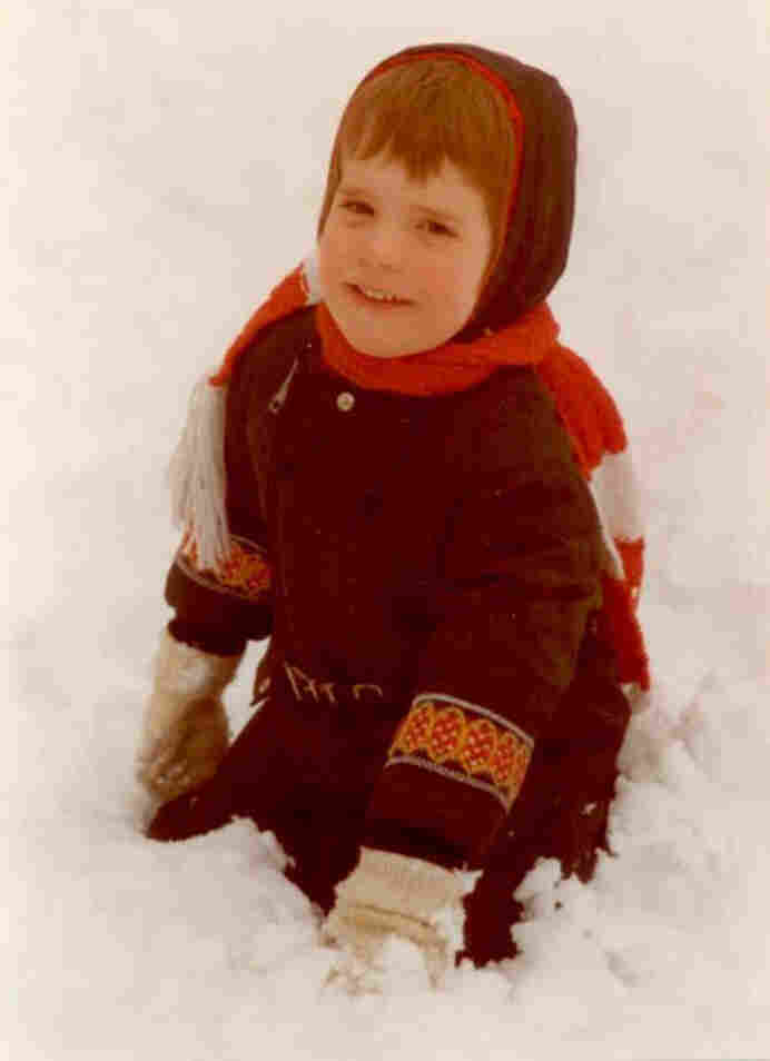 Author Anne Ursu grew up in Minnesota, where she loved playing in the snow as a kid.