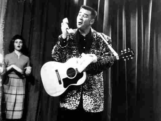 Photo of the Big Bopper in 1960.