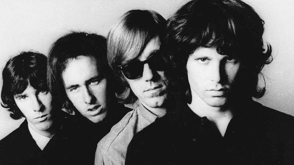 The Doors, photographed in 1966. (Elektra Records)