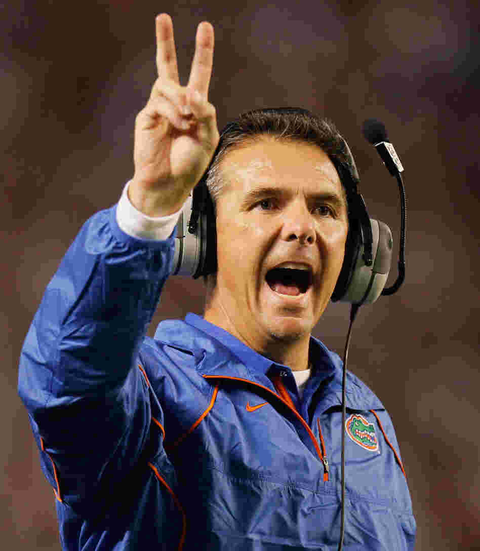 Urban Meyer: He won two football championships at Florida. Ohio State hopes he can bring more to Columbus.