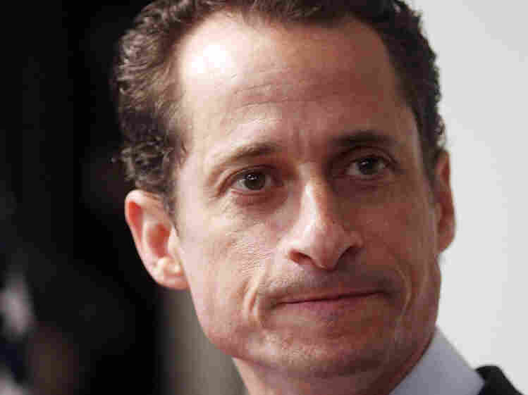 New York Democratic Rep. Anthony Weiner announced his resignation in June, 10 days after he admitted sending lewd photos of himself on Twitter.
