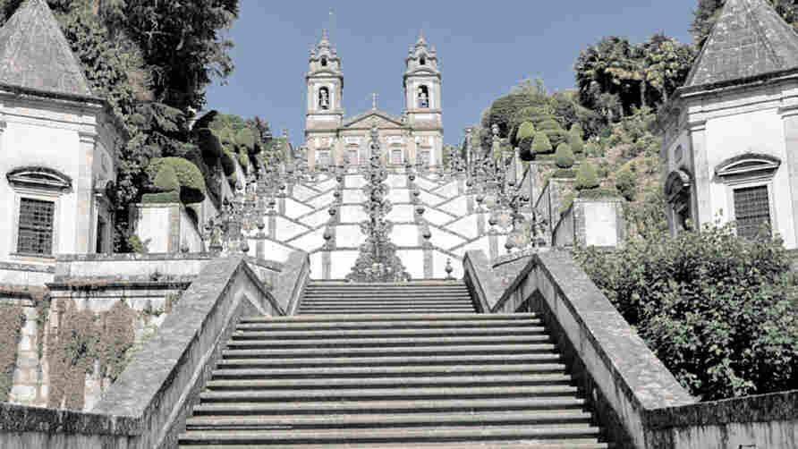 Portugal's Bom Jesus church.