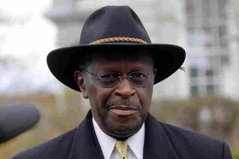 GOP presidential candidate Herman Cain is reassessing his campaign after denying allegations that he engaged in a long-term affair.