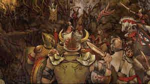 Artwork from Cormorant's Dwellings.