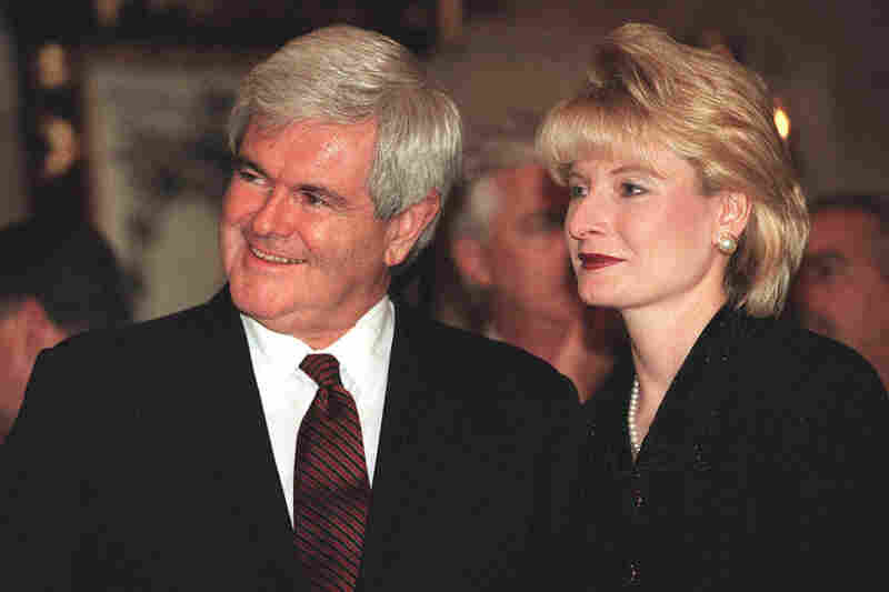 Former House Speaker Newt Gingrich acknowledged an affair with Callista Bisek in the 1990s. She later became his third wife.