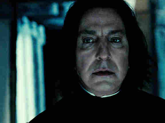 Alan Rickman has played Professor Severus Snape throughout the Harry Potter series.