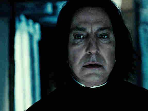 Alan Rickman has played Professor Severus Snape throughout the Harry Potter series.