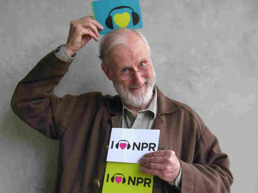 James Cromwell at NPR West.