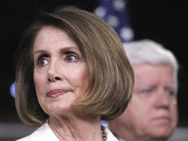 Rep. Nancy Pelosi, House minority leader, and Rep. John Larson, Democratic Caucus chair, have an ever steeper path to regaining House control.