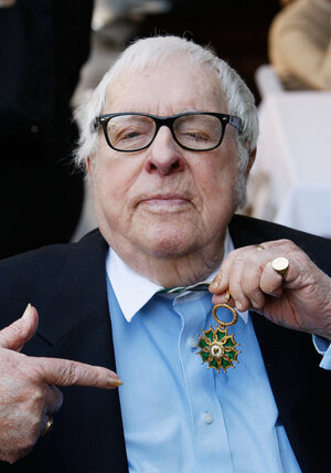 Ray Bradbury, seen here in 2009, has allowed the publication of Fahrenheit 451 as a digital book for the first time.