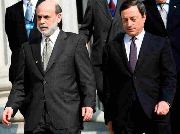 Federal Reserve Chairman Ben Bernanke and European Central Bank President Mario Draghi.