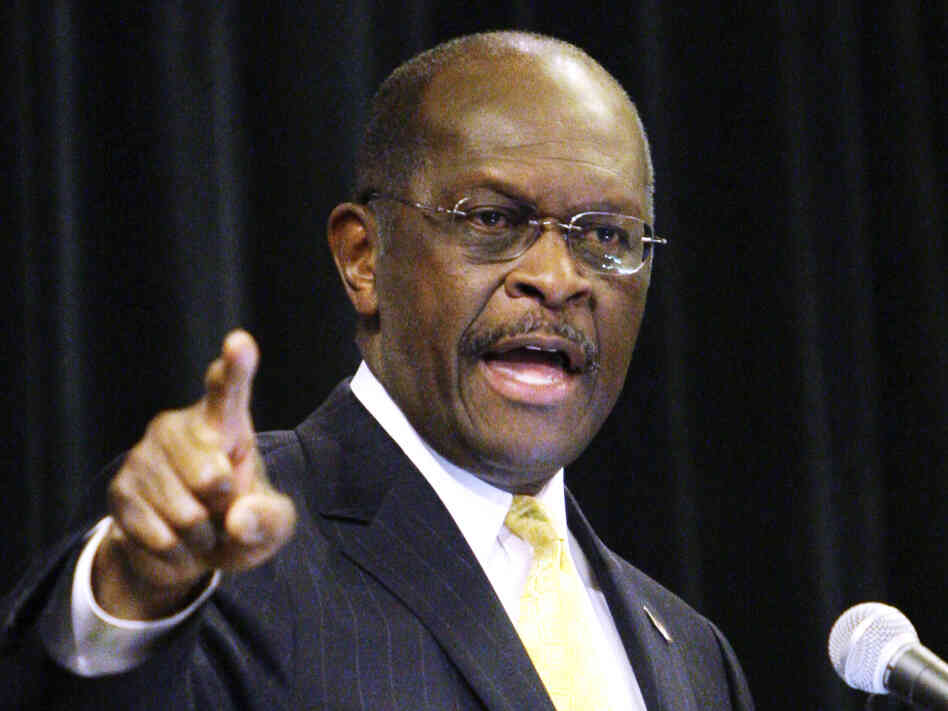 Republican presidential candidate, Herman Cain campaigned Wednesday in Dayton, Ohio. He told a Fox News interviewer he would decide in the next week whether to stay in the GOP race.