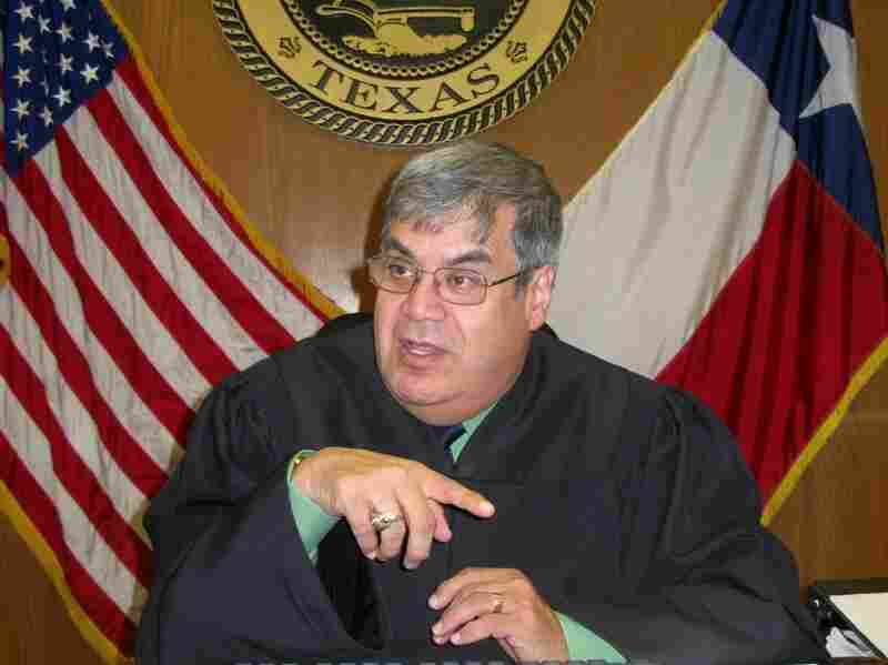 "In a Houston municipal court, Judge David Fraga presides over hundreds of cases a day involving students ""ticketed"" by school police for things like truancy or using profanity at school."