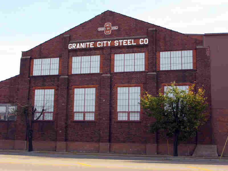 The old Granite City Steel Mill is now owned and operated by US Steel.