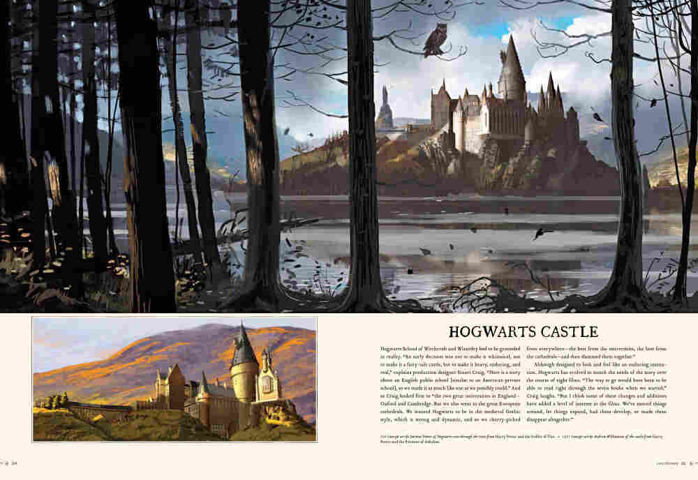 Harry Potter Page To Screen, page 324-325. Click to enlarge.