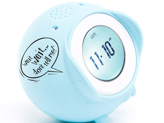 Wait Wait... Don't Tell Me Tocky alarm clock