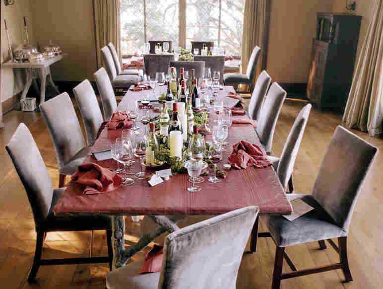 The aftermath of Stewart's burgundy dinner is documented in Martha's Entertaining. Click here to see a Q&A about entertaining on The Martha Stewart Show.