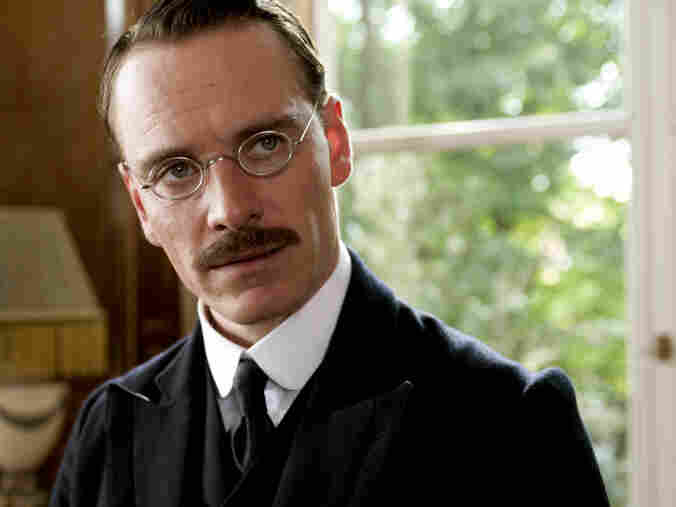 Fassbender's Carl Jung — Sigmund Freud's protege — struggles to reconcile theory and practice in A Dangerous Method.
