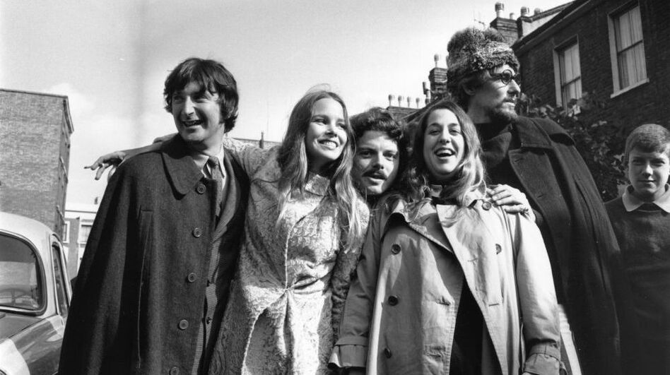 The Mamas and the Papas in England, 1967. (Getty Images)