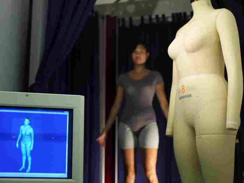 Alvanon, a clothing size and fit consulting firm in Manhattan, uses a device called AlvaScan to create model forms — which are then used to create clothing sizes.