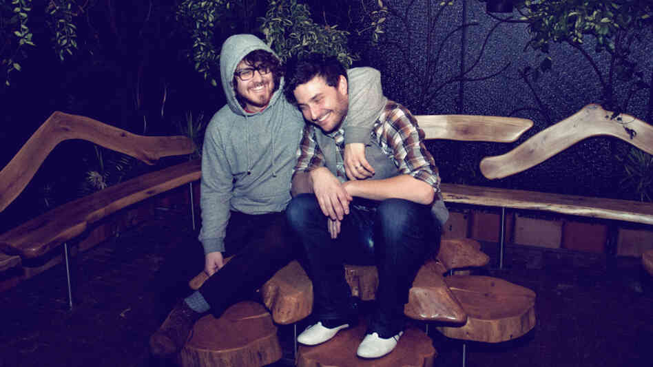 Daniel Zott and Joshua Epstein of Dale Earnhardt Jr. Jr.