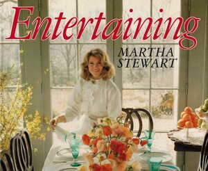 In the early 1980s, Martha Stewart was working as a caterer and couldn't find a good book on entertaining — so she wrote her own. Entertaining, her first book, was published in 1982. Her 75th book, Martha's Entertaining, was released in October.