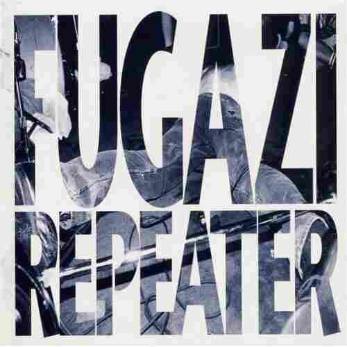 The cover of Fugazi's 1990 debut album, Repeater.