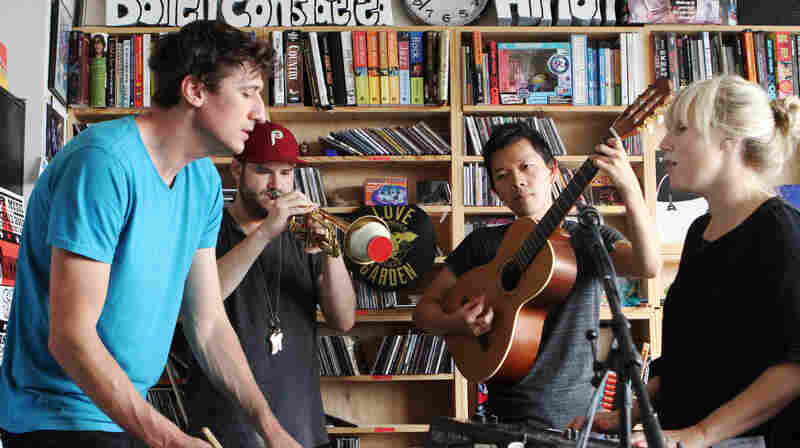 Mates Of State: Tiny Desk Concert