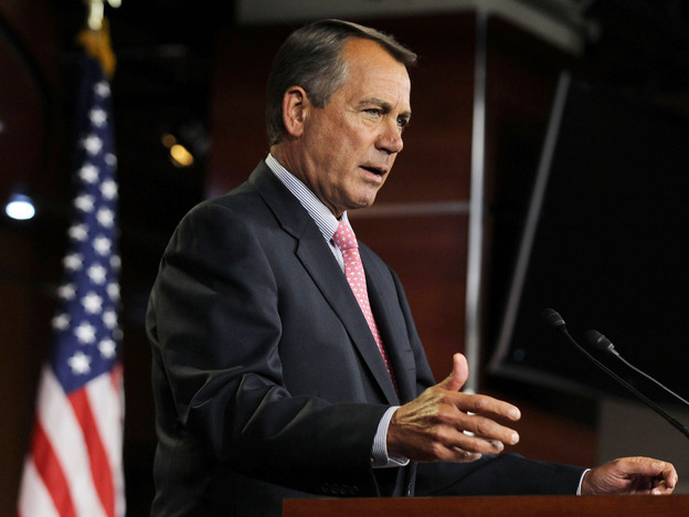 House Speaker John Boehner wants his Republican colleagues to agree to a payroll tax cut extension.