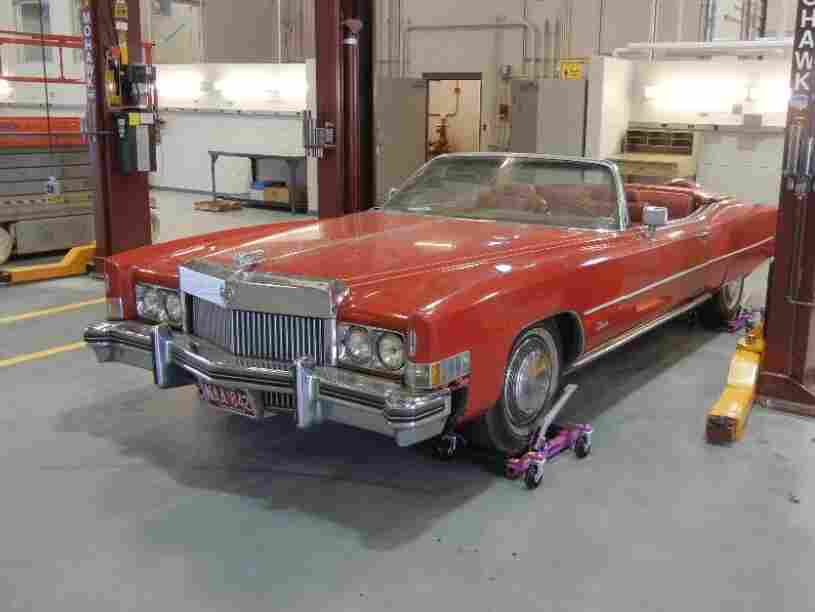 Chuck Berry's 1973 Eldorado now belongs to the collection of the Smithsonian National Museum of African American History and Culture. The museum, now under construction, is set to open its doors in 2015.