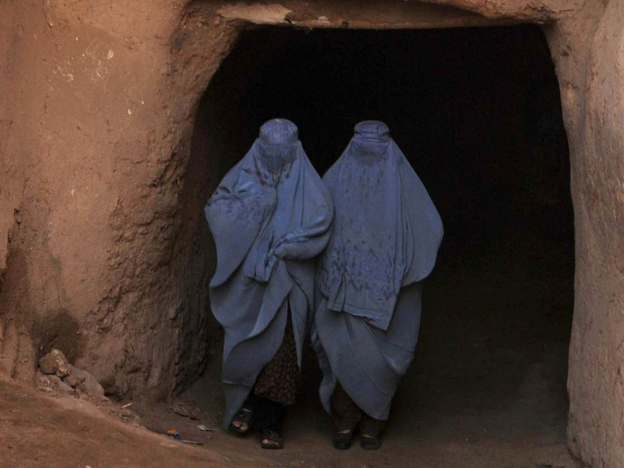 Afghan women in the northwestern city of Herat. Women still have few rights and can end up in jail on adultery charges when they accuse a man of rape. There are fears that women's rights will be further eroded when Western troops leave the country. (AFP/Getty Images)