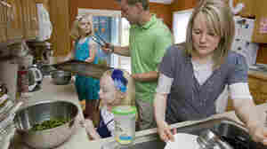Working Moms Multitask, And Stress, More Than Dads
