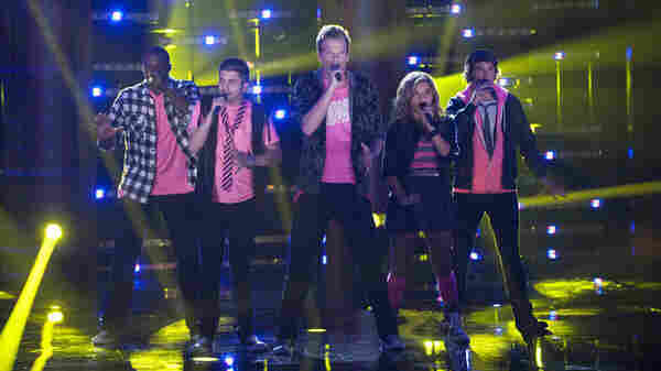 Pentatonix performs on The Sing-Off.