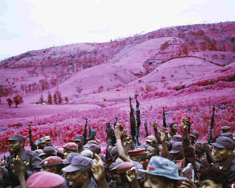 La Vie En Rose, 2010Rebels celebrate as they are integrated into Congo's national army in the eastern part of the country. This rebel group had already been integrated into the army once before, but then defected because they weren't being paid.