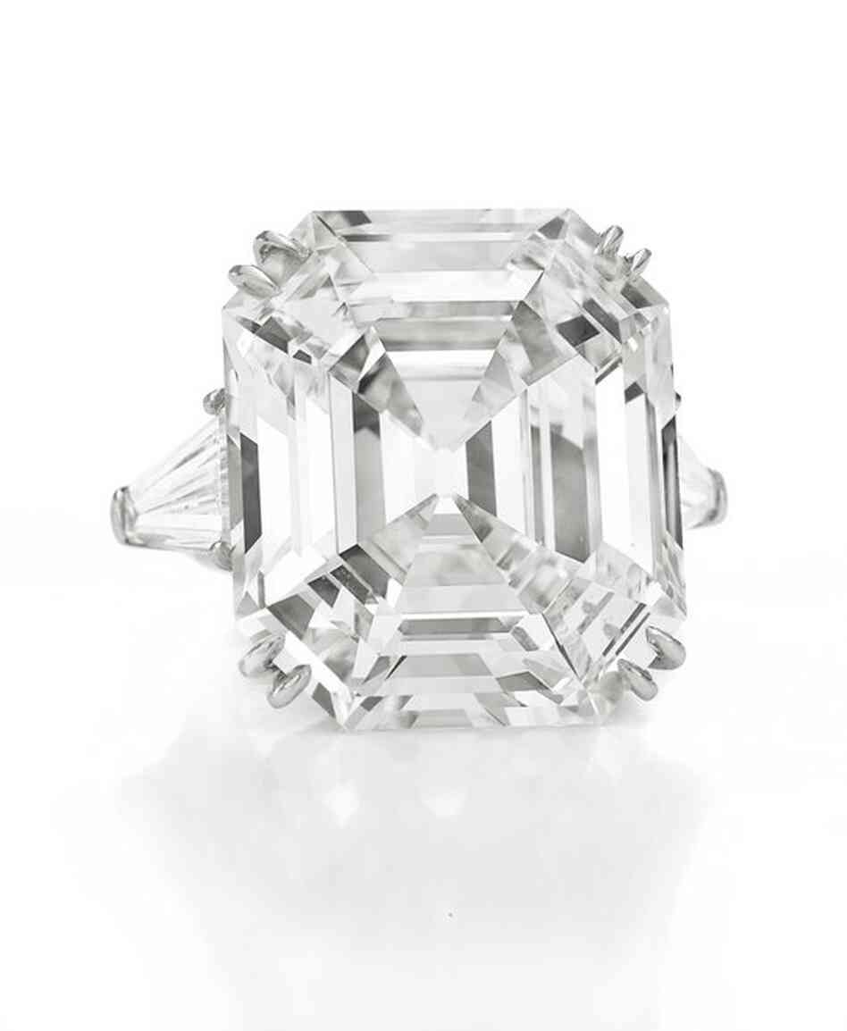 "Known as ""The Elizabeth Taylor Diamond,"" this 33.19-carat diamond was a gift from Richard Burton in May 196"