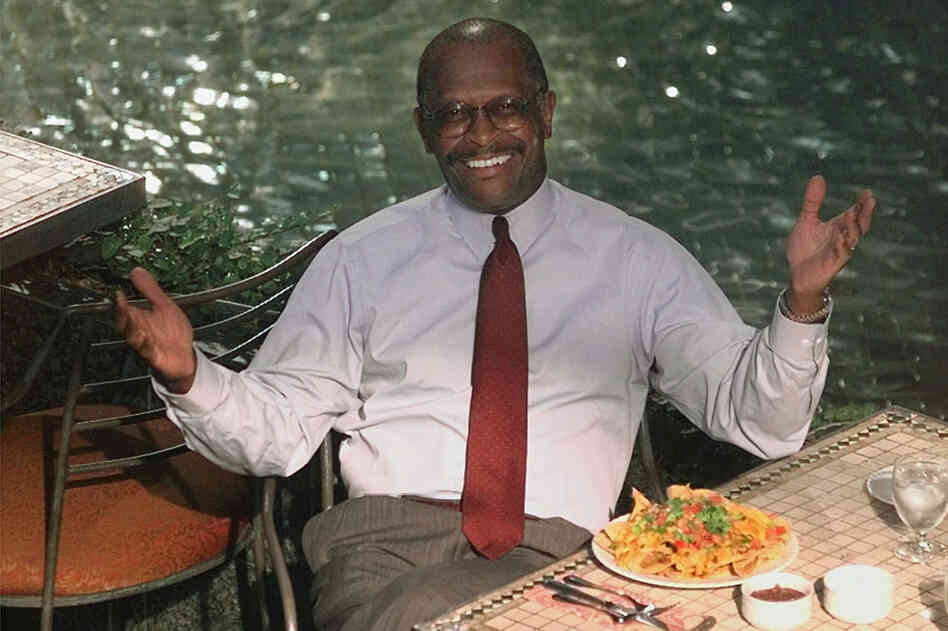 Cain was the president of the National Restaurant Association Chicago in 1998. Cain previously has run a pizza c