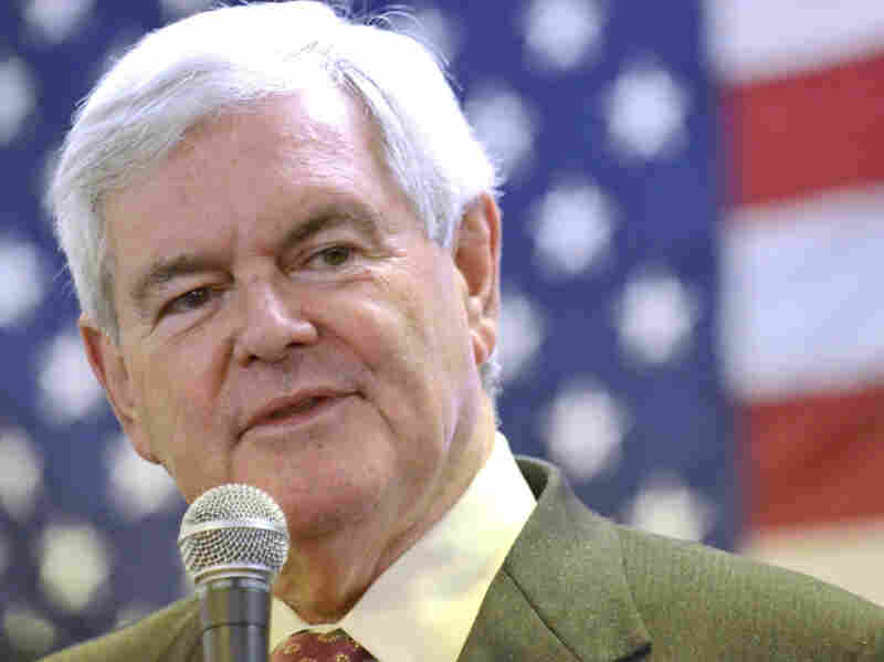 Republican presidential candidate Newt Gingrich has seen a recent bump in the polls. More criticism is sure to come, but Gingrich says he doesn't think attacks from other candidates will be effective.