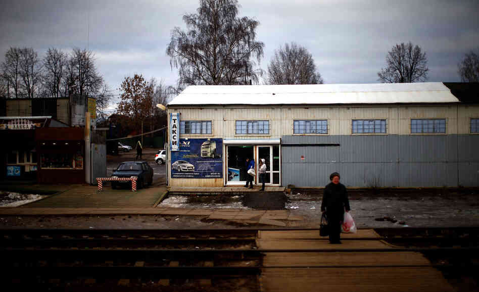 A small station along the railroad from Moscow to Vladivostok.