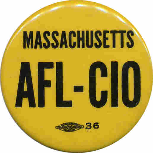 AFL-CIO button